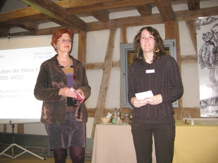 Begrüßung durch Birgit Kruckenberg-Link und Melanie Padilla Segarra