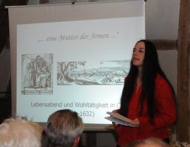 Claudia Nowak berichtet über Maria Andreäs letzten Lebensabschnitt in Calw
