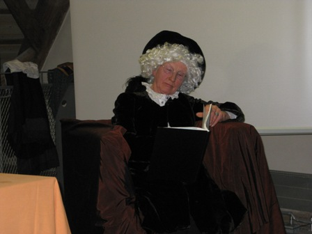 Der Hofmedicus wird von Maria Andreä auch um Rat gefragt