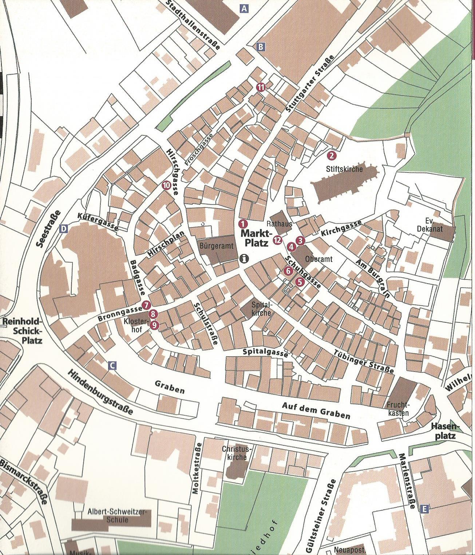 """Stadtplan aus der Broschüre """"FrauenWege"""" von 2008. Beim Klick auf das Bild öffnet sich der Plan im PDF-Format."""