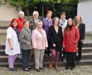 Über uns: Foto der Frauengeschichtswerkstatt Herrenberg im Oktober 2016