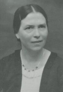 Foto von Mathilde Rothenstein von 1936. Quelle: Staatsarchiv Ludwigsburg, Sig. EL902/4Bü