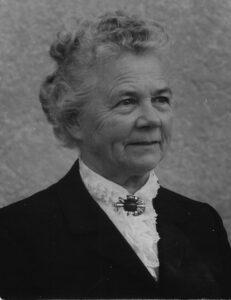 Potrait von Maria Eipper-Hoffmann, aufgenommen 1978.