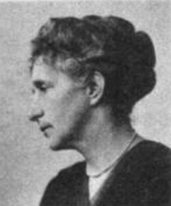 Foto von Anna Blos, aufgenommen 1919.